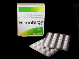 Marque : Boiron spécialités homéopathiques conseils RHINALLERGY es un medicamento homeopático utilizado tradicionalmente en el tratamiento de la rinitis alérgica transitorios (fiebre del heno) y transitorios de la conjuntivitis alérgica. Partir de 6 años Composición idéntica SINALIA Boiron