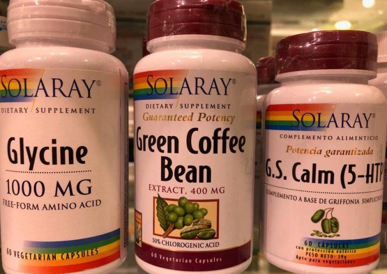 GREEN COFFEE BEAN de SOLARAY