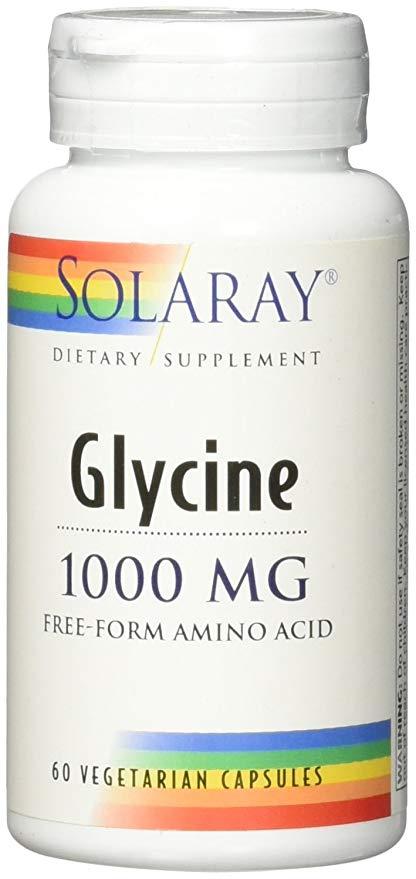 Glycine 1000 mg Free Forma Amino acid