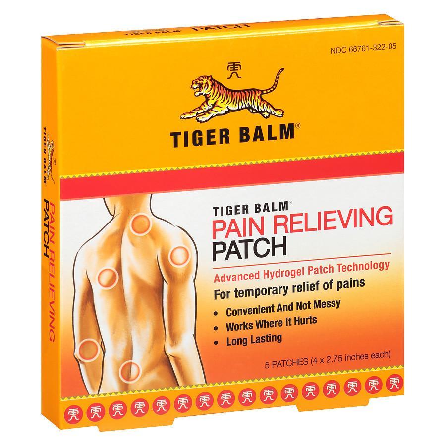 Comprar Tiger Balm 3 Parches en Gran Farmacia Andorra Alivia el Dolor Muscular. Bálsamo del Tigre alivio del dolor analgésico para aliviar el dolor muscular