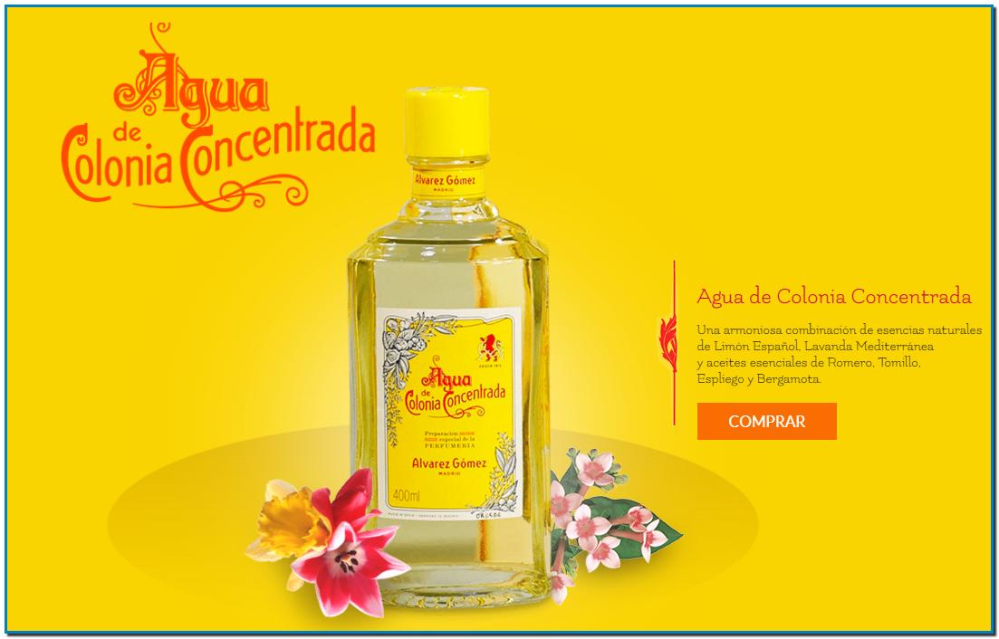 Comprar Agua de Colonia Concentrada Álvarez Gómez en Gran Farmacia Andorra Online
