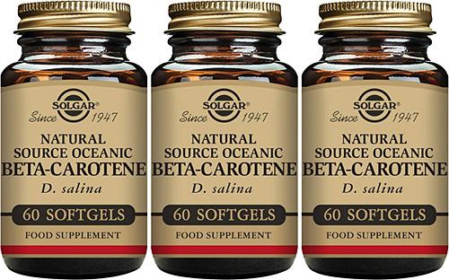 Comprar Solgar Beta-Caroteno en Gran Farmacia Andorra Online Cápsulas blandas - Envase de 180 de Solgar Beta caroteno y otros carotenoides