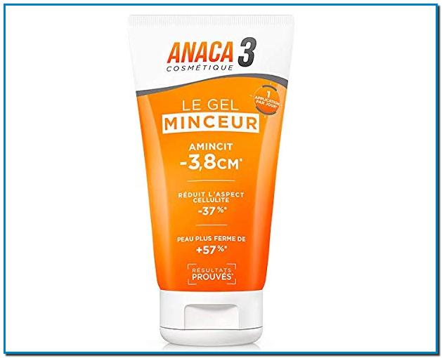 Comprar Anaca3 Le gel minceur en Gran Farmacia Andorra Online Amincit -3,8cm* Réduit l'aspect cellulite -37 % Peau plus ferme 57 %