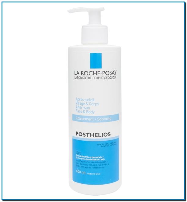 La Roche Posay POSTHELIOS GEL FONDANT Hidratación para después del sol gel Repara, suaviza y restaura los lípidos de la piel seca que se encuentra bajo el estrés de la exposición al sol.