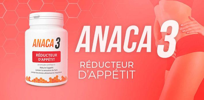 Anaca3 : est-ce efficace pour mincir ? Avis et témoignages ! Marque française de l'univers de la minceur, Anaca3 propose des produits de qualité, aux formules complètes, pour vous aider à retrouver la ligne. Découvrez les avis positifs de celles et ceux qui ont testé.