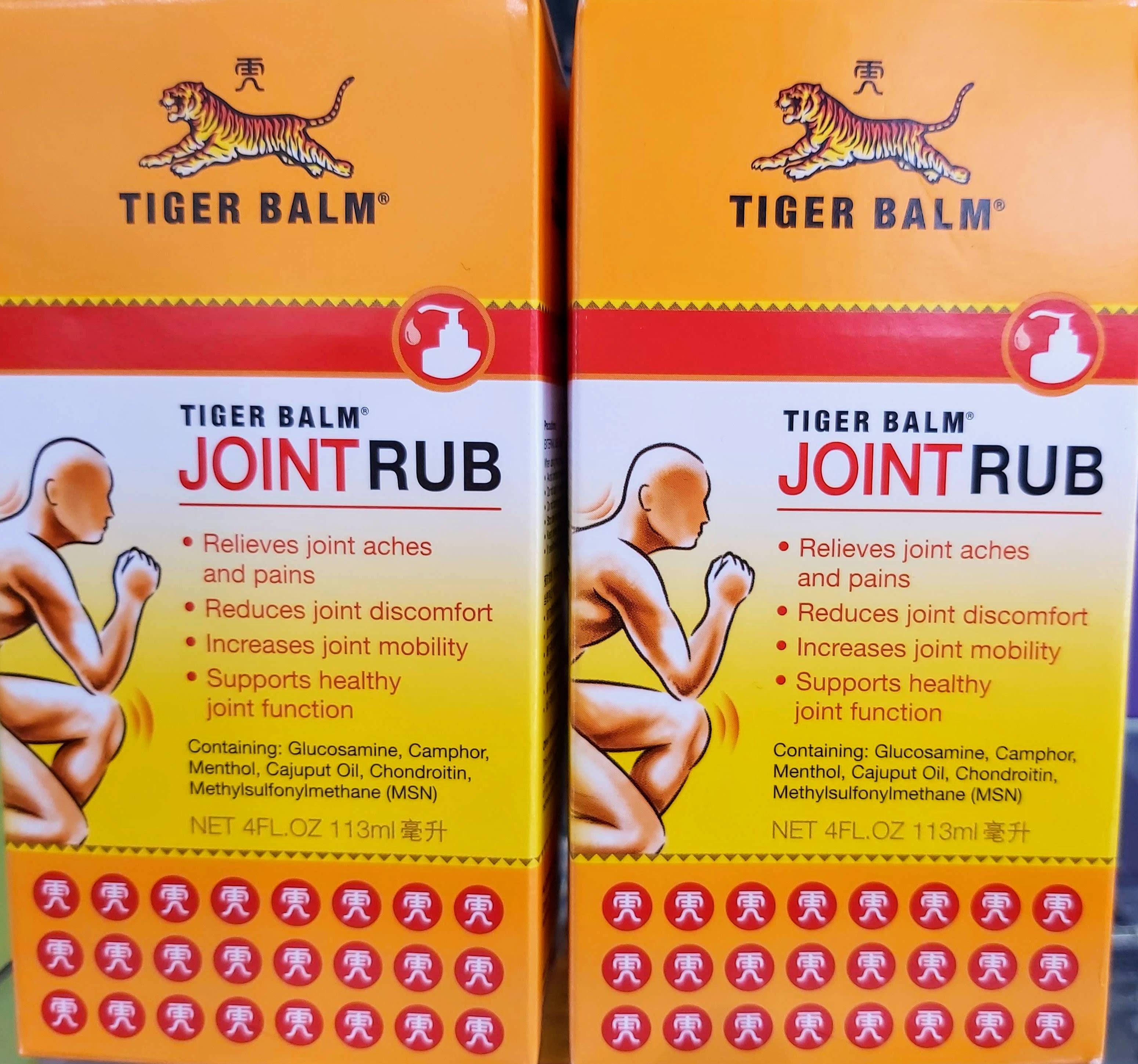 Especial para las articulaciones la eficacia de Tiger Balm en una formulación única desarrollada para el alivio del dolor de la artritis, dirigida a los dolores y rigidez en las articulaciones
