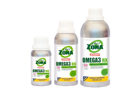 Comprar EnerZona Omega 3 Rx en Gran Farmacia Andorra Online ácidos grasos Omega 3 obtenido a través de un exhaustivo proceso de destilación molecular.
