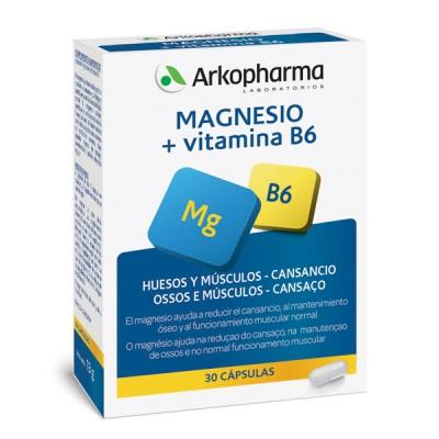 ARKOVITAL® MAGNESIO JALEA REAL Y VITAMINAS ARTICULACIONES, HUESOS , CANSANCIO - FORMA Complemento alimenticio a base de Magnesio y Vitamina B6