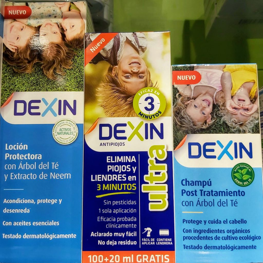 COMPRAR DEXIN LOCION PROTECTORA PIOJOS en GRAN FARMACIA ANDORRA ONLINE 150ML Solución pediculicida de nueva generación que combina los ingredientes activos más eficaces con la máxima comodidad de uso y el respeto natural por el cabello
