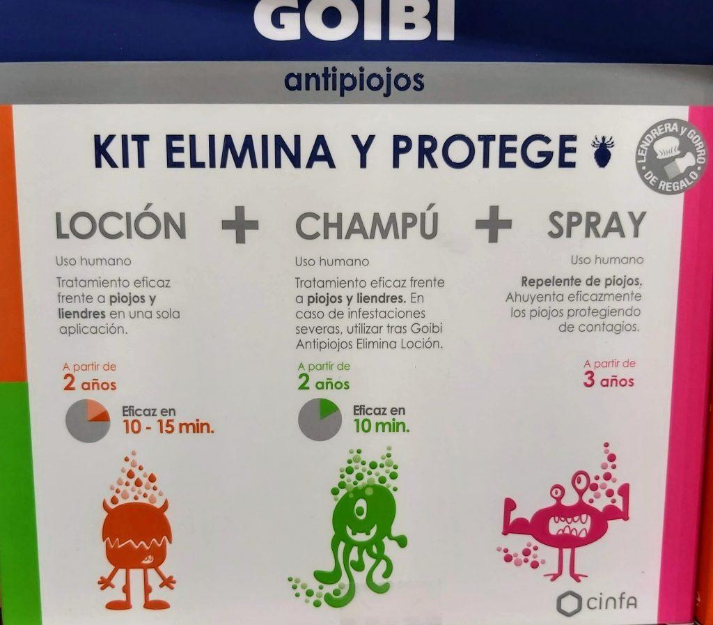 Comprar Goibi antipiojos lociónen Gran Farmacia Andorra Online tratamiento eficaz frente apiojos y liendresen una sola aplicación.