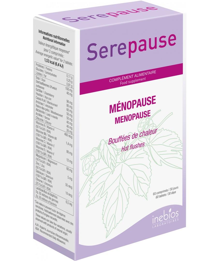 Equilibre optimal en phyto-progestagènes et phyto-oestogènes pour soulager les troubles associés à la ménopause tels que les bouffées de chaleur ou les troubles de l'humeur.