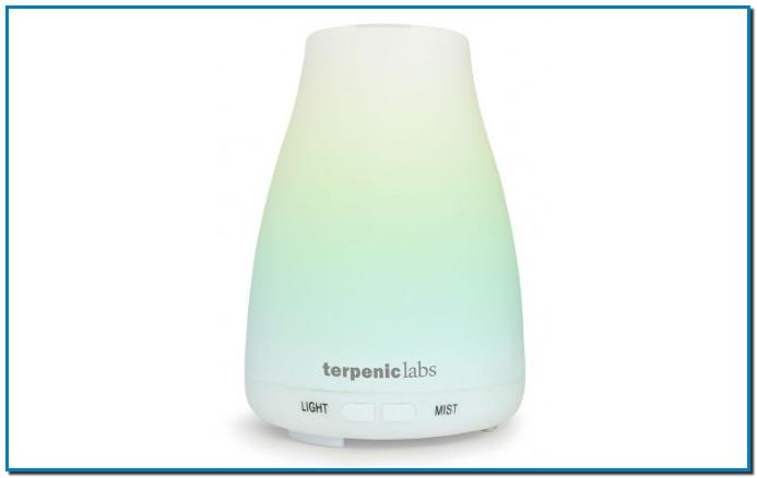 Gran Farmàcia Andorra Difusor Bruma Herbal Terpenic Labs Difusor de aceites esenciales mediante vaporización de agua por ultrasonidos. Con variación del color para lograr un ambiente inigualable. Sensor del nivel de agua. Tamaño compacto. Sin alterar la calidad del aceite y con una difusión en puro.