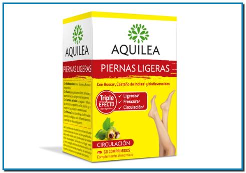 Comprar Aquilea Piernas Ligeras ayuda a revitalizar, refrescar y aporta sensación de ligereza en las piernas y a reducir la sensación de pesadez en las piernas y a mantener la circulación venosa normal