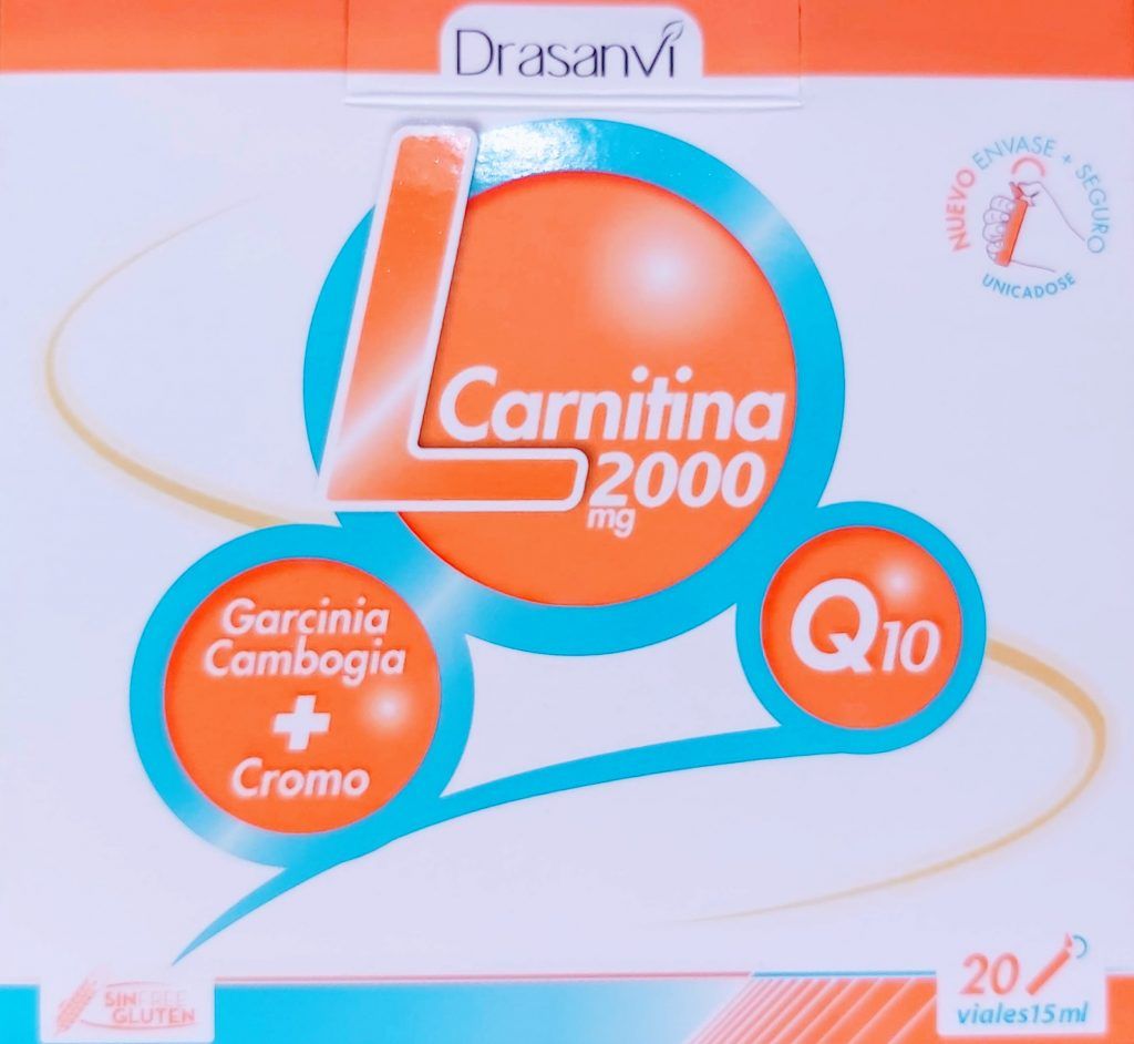 l-carnitina y coenzima q10