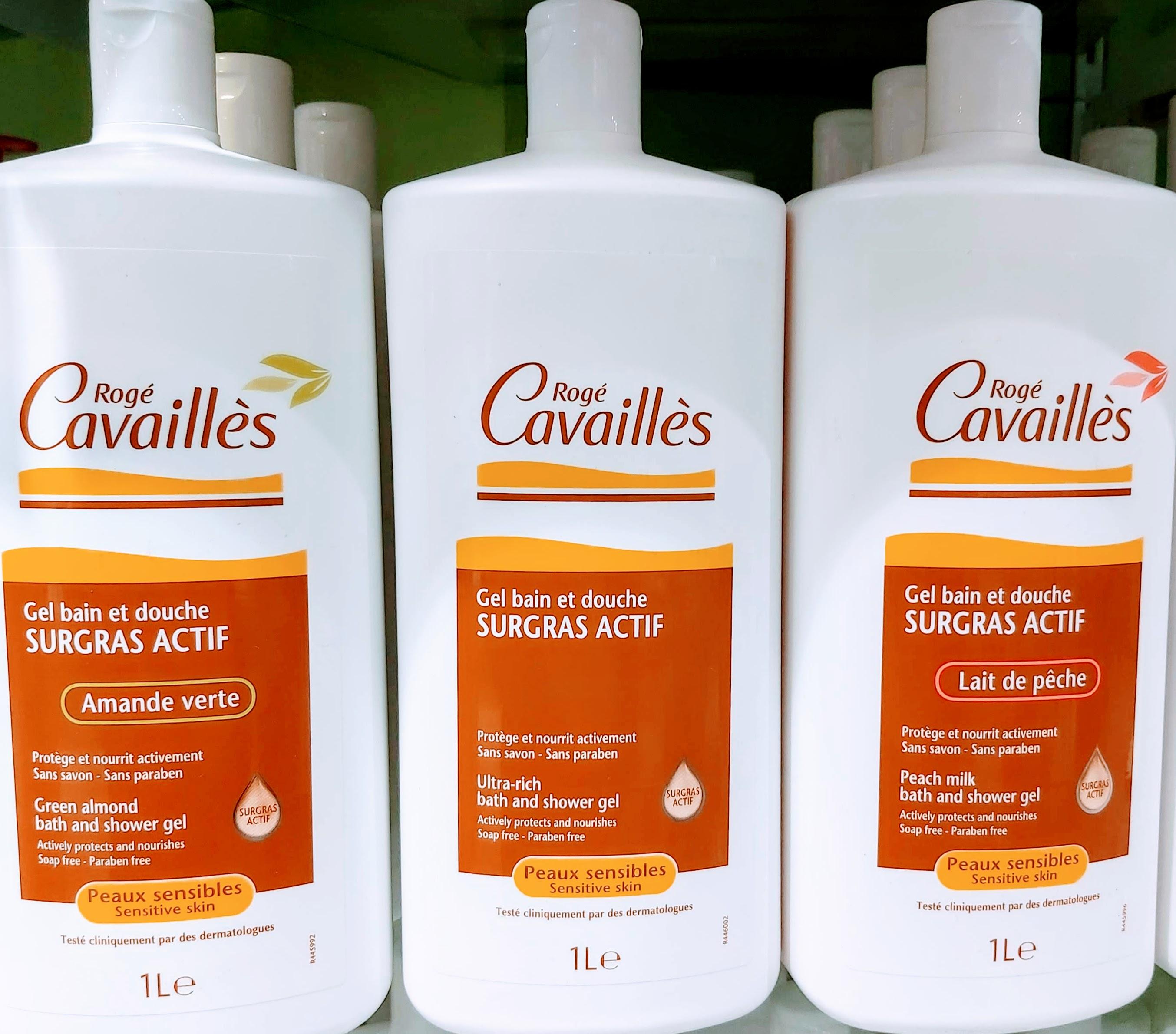 COMPRAR GEL BAIN ET DOUCHE ROGÉ CAVAILLÈS SURGRAS ACTIF en Gran Farmacia Andorra Online AMANDE VERTE Pour prendre soin de votre peau sensible, le Gel bain et douche est enrichi en Surgras actif