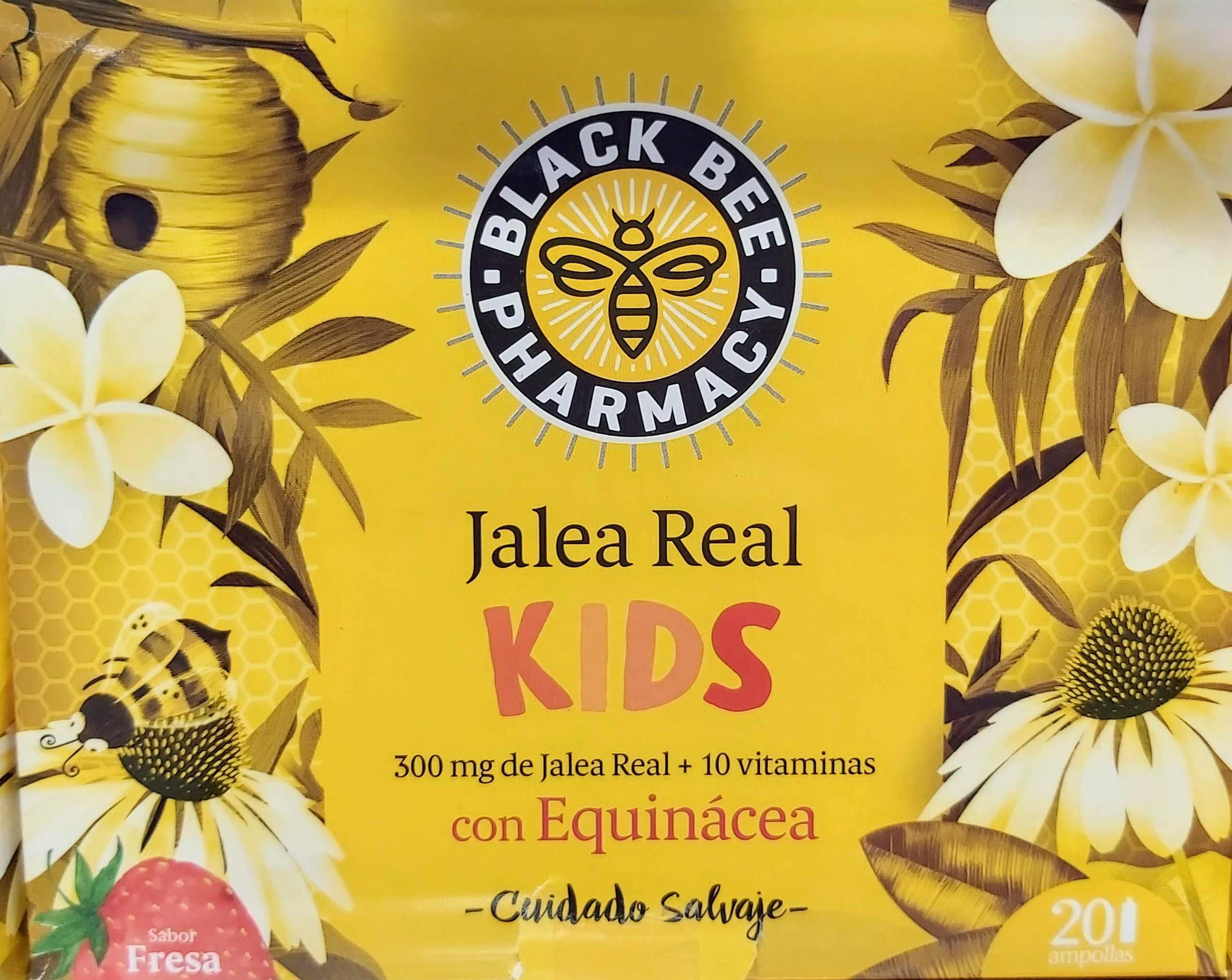 COMPRAR Black Bee Pharmacy Jalea Real Kids es un complemento alimenticio que contribuye al buen funcionamiento del sistema inmunitario de los niños, proporcionando las defensas necesarias para el día a día de los más pequeños de la casa.