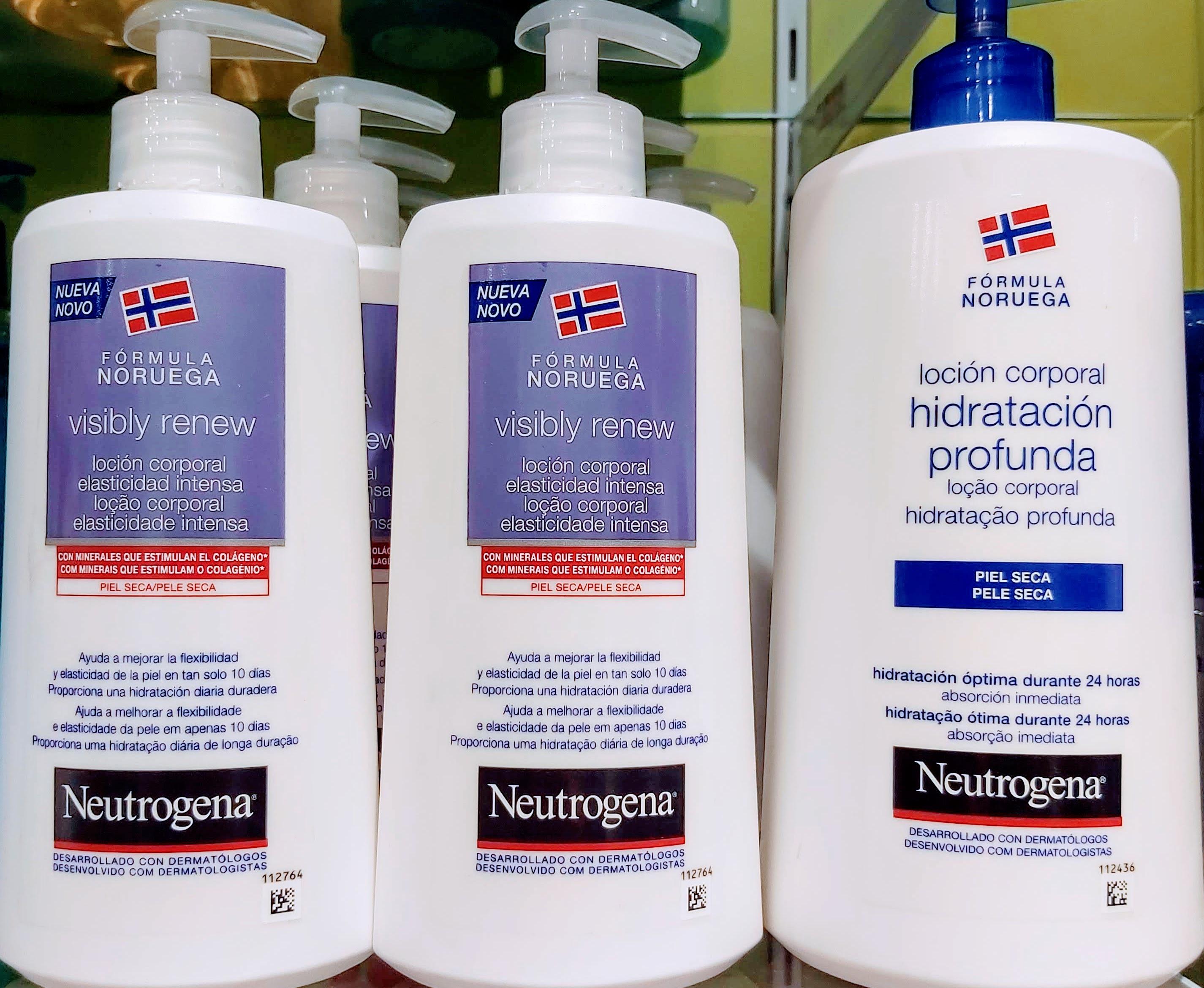 Comprar Neutrogena Loción Corporal Elasticidad Intensa en Gran Farmacia Andorra Online alta cosmeticidad y textura no grasa se absorbe rápidamente permite vestirse inmediatamente sin esperar a que se absorba