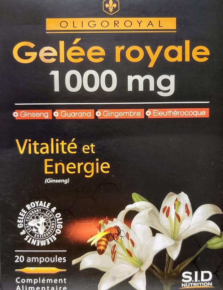 Acheter Gelée royale 1000 mg Magnésium d'OLIGOROYAL, un extraordinaire concentré naturel d'éléments vitaux dans une formule conçue pour réduire naturellement la fatigue physique et émotionnelle.