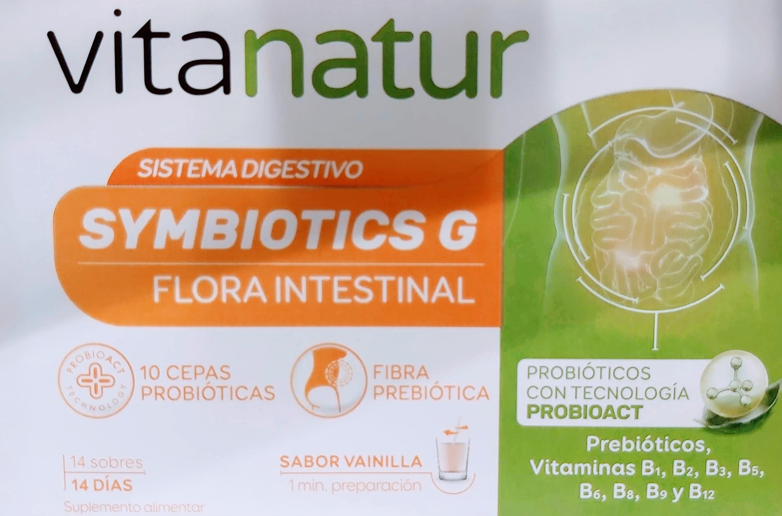 Comprar Vitanatur Symbiotics G Turbo en Gran Farmacia Andorra ayuda a mantener el equilibrio de la flora intestinal Se trata de un suplemento alimenticio a base de probióticos prebióticos y vitaminas que ayuda a mantener el equilibrio de la flora intestinal
