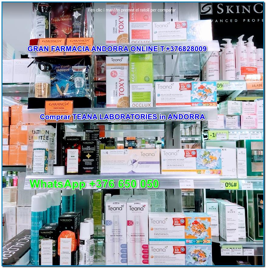 Ya puedes comprar TEANA COSMETICS en Gran Farmacia Andorra LA TENDENCIA MÁS MODERNA Y LAS SOLUCIONES Más INNOVADORAS EN COSMETOLOGÍA