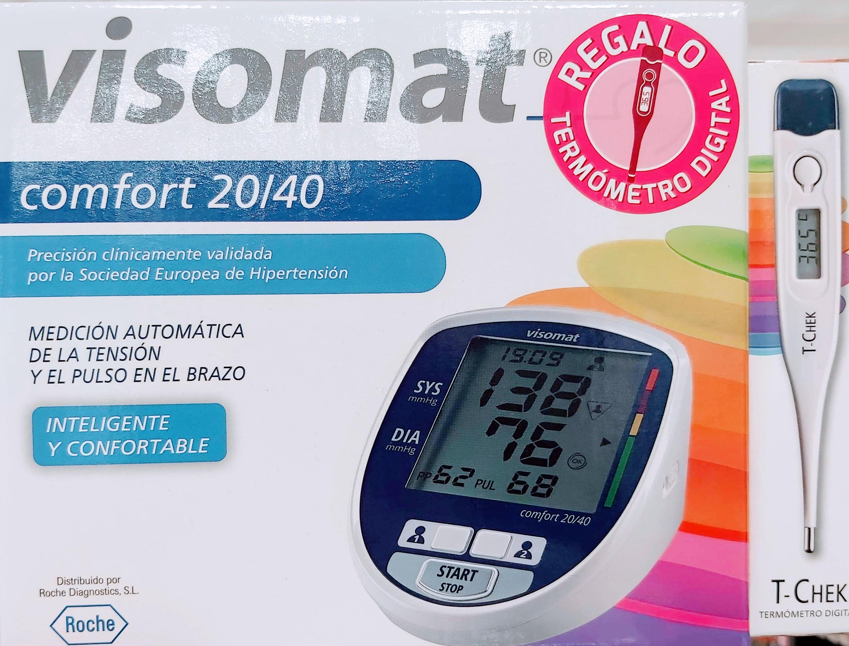 ¿Dónde puedes comprar un aparato para medir la tensión de la marca Visomat de Roche? en Gran Farmacia Andorra Online