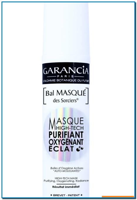 La mascarilla facial High-Tech Bal masqué des Sorciers de Garancia es un tratamiento nutritivo, calmante y reparador que actúa en tan solo 5 minutos.