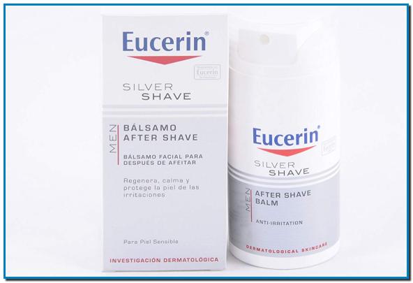 Eucerin Silver Shave bálsamo after shave bálsamo 75ml Bálsamo que previene las irritaciones del afeitado regenera, calma y repara la piel. Para pieles sensibles.