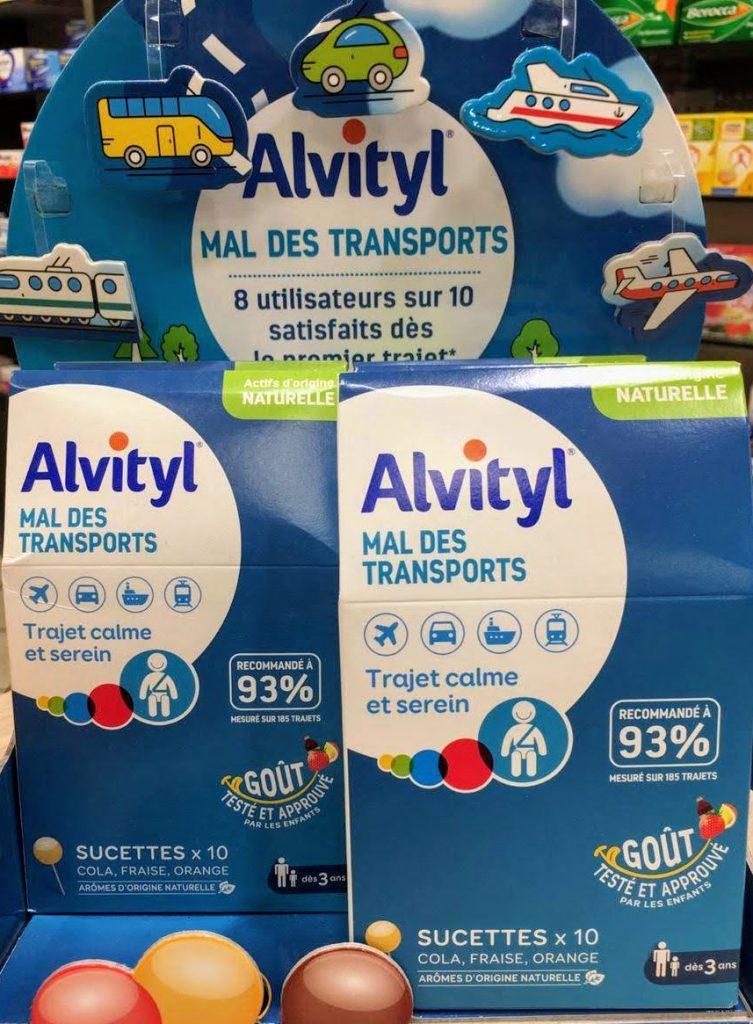 útil para los mareos Alvityl Sickness 10 Lollipops una solución real para los niños pero también para los adultos que se enfrentan al mareo por movimiento.