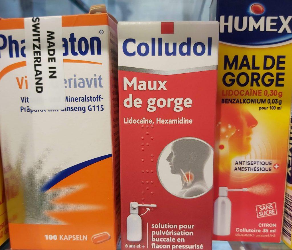 COLLUDOL COLUTORIO 30ML DOLOR DE GARGANTA es un medicamento que contiene un antiséptico local y un anestésico local