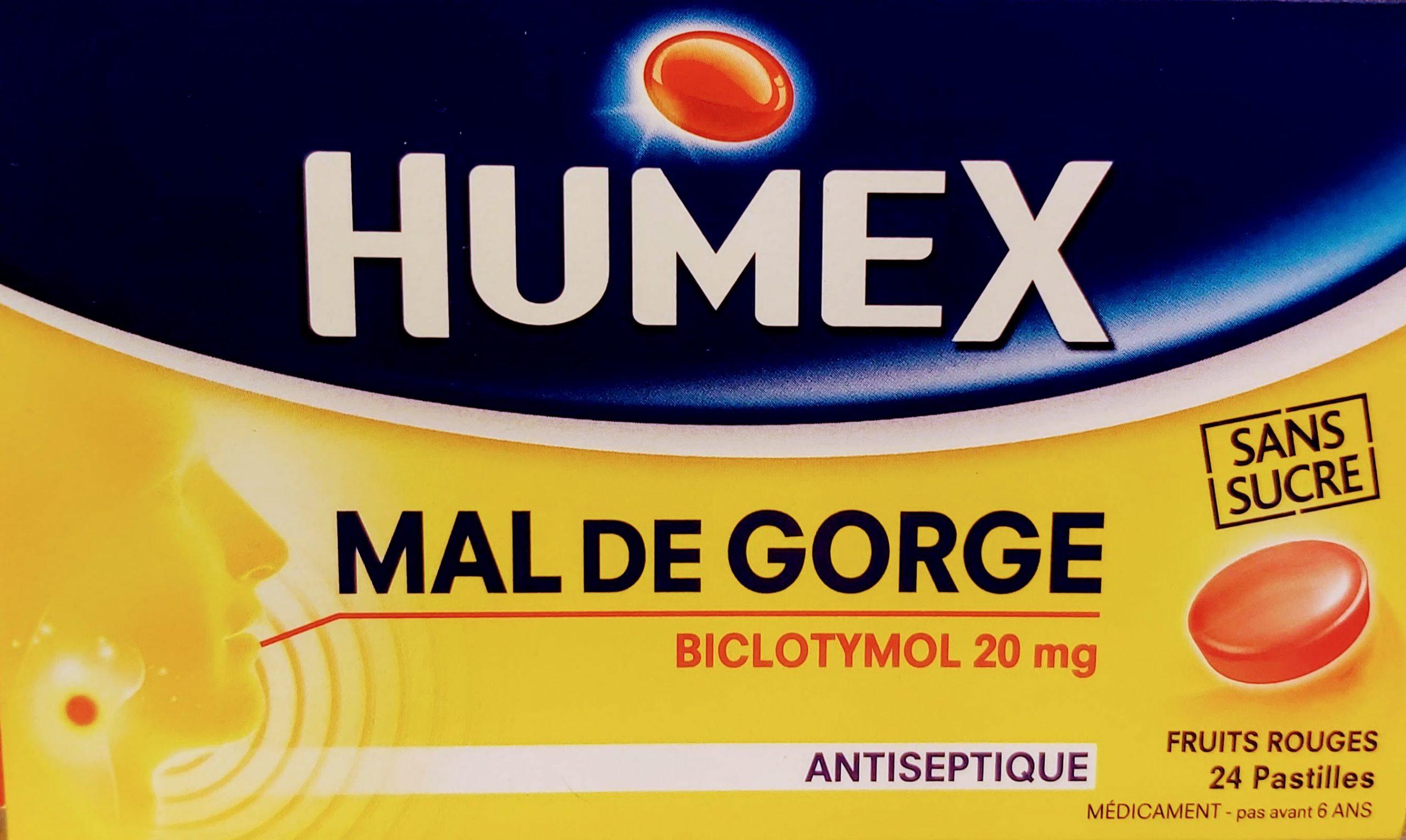 Comprar HUMEX MAL DE GORGE en Gran Farmacia Andorra pastillas antisépticas para la garganta. Disponible en más sabores.