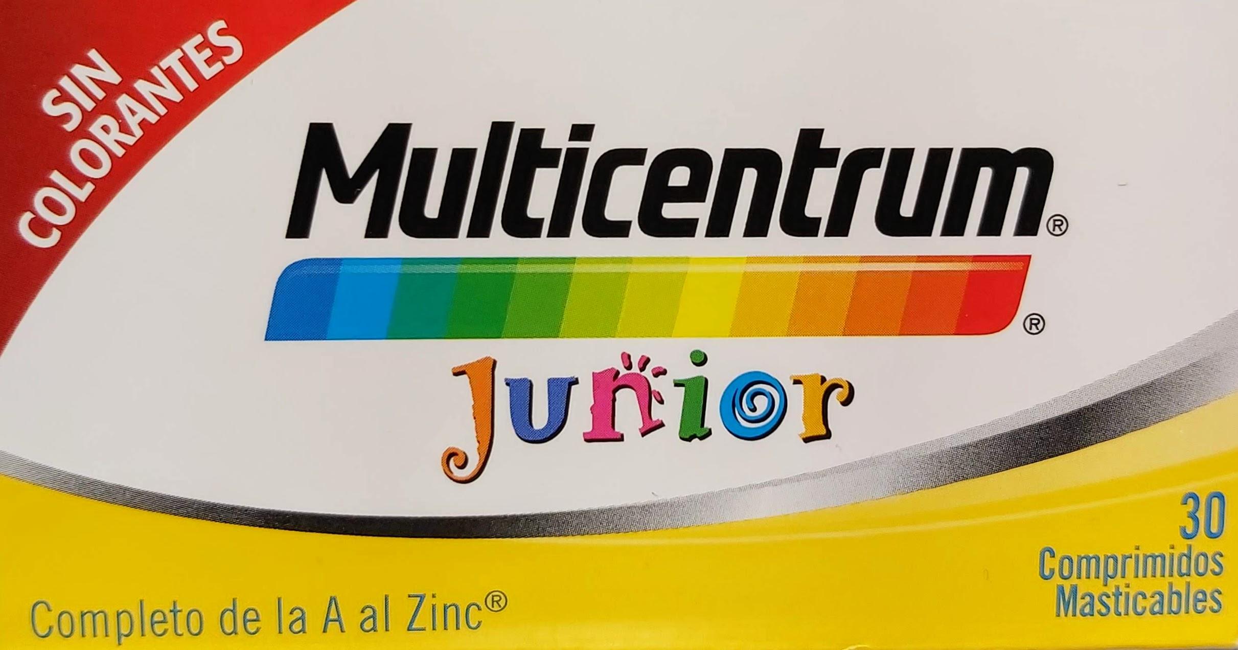 MULTICENTRUM Junior las Vitaminas y los Minerales son imprescindibles para el correcto funcionamiento de nuestro organismo, interviniendo en multitud de procesos metabólicos