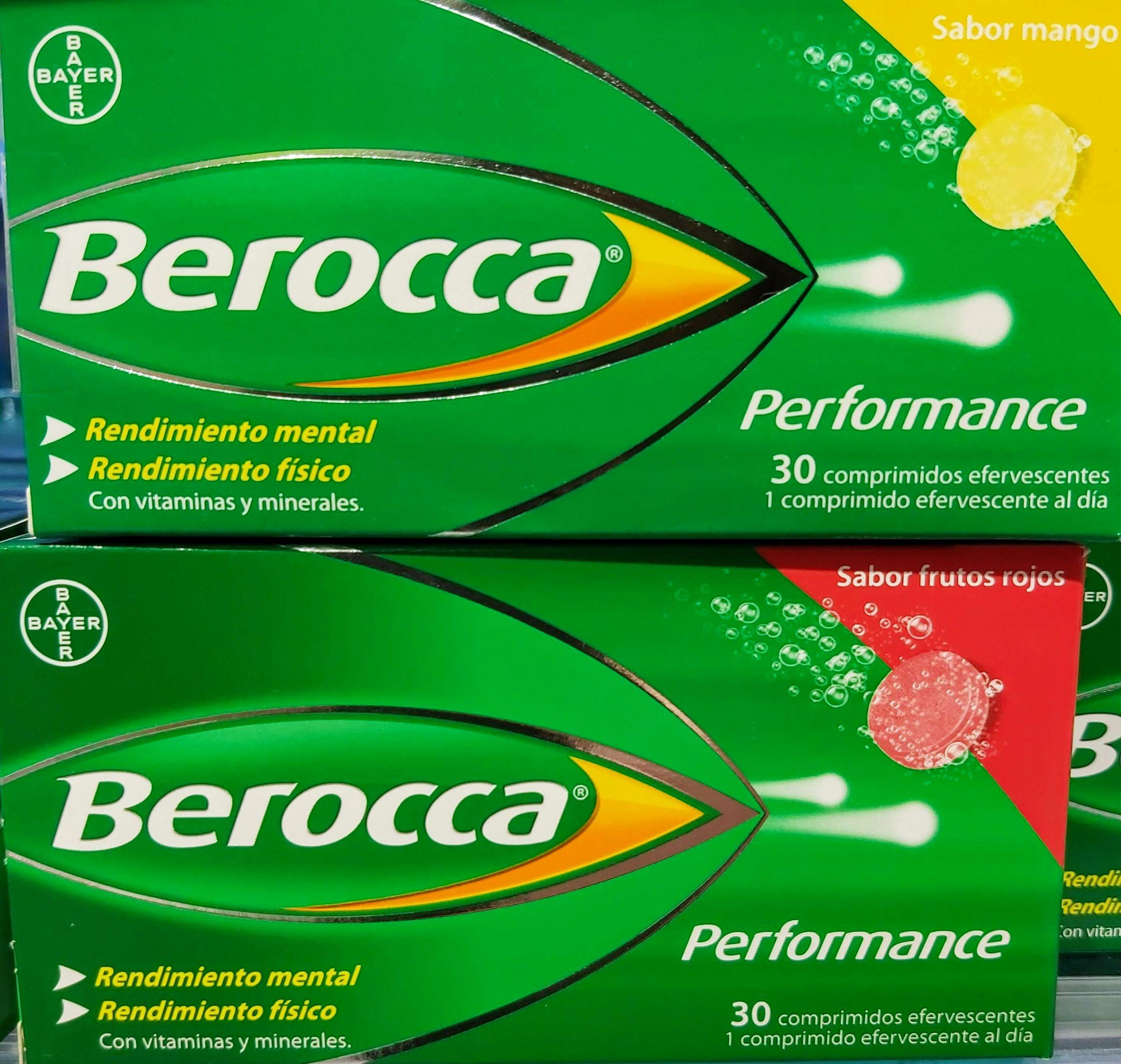 Comprar Berocca Performance en Gran Farmacia Andorra Online combinación de vitaminas y minerales ayuda al buen funcionamiento de la mente y favorece un buen rendimiento físico