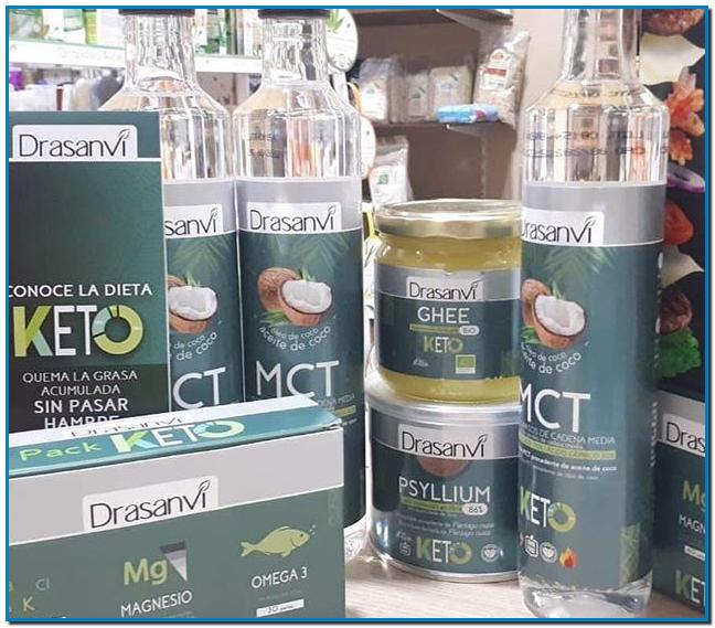 Compra los productos de Drasanvi y quema la grasa acumulada sin pasar hambre con dieta cetogenica o dieta keto en Gran Farmacia Andorra online