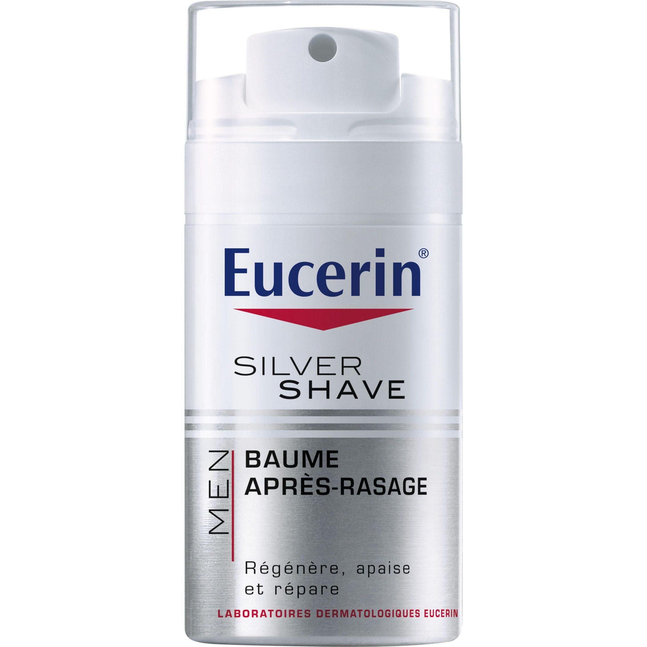 Eucerin Silver Shave bálsamo after shave bálsamo 75ml Bálsamo que previene las irritaciones del afeitado regenera calma y repara la piel para pieles sensibles.