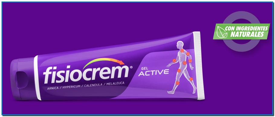 Comprar Fisiocrem Gel ACTIVE es la solución de masaje rápida y eficaz para la preparación de los músculos y ligamentos para evitar lesiones de la vida cotidiana o del ejercicio físico