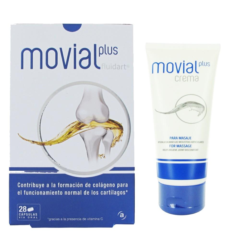 Comprar Movial Plus 30 cápsulas ayuda a cuidar tus articulaciones con Movial Plus contribuye a la formación de colágeno y ayuda a mejorar la salud de las articulaciones reduciendo el dolor y mejorando la movilidad.