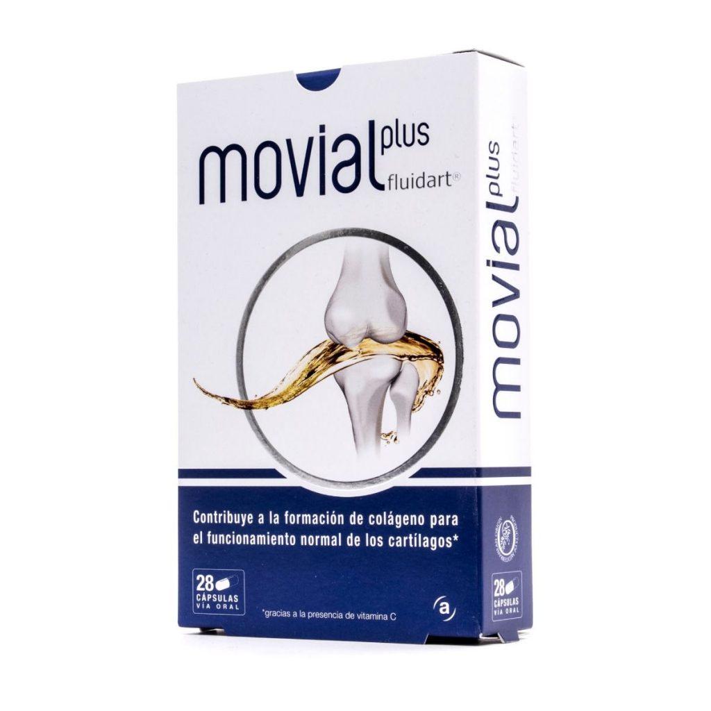 Comprar Movial Plus Fluidart ayuda a reducir la inflamación y el dolor articular asi como estimulan la síntesis de colágeno endógeno