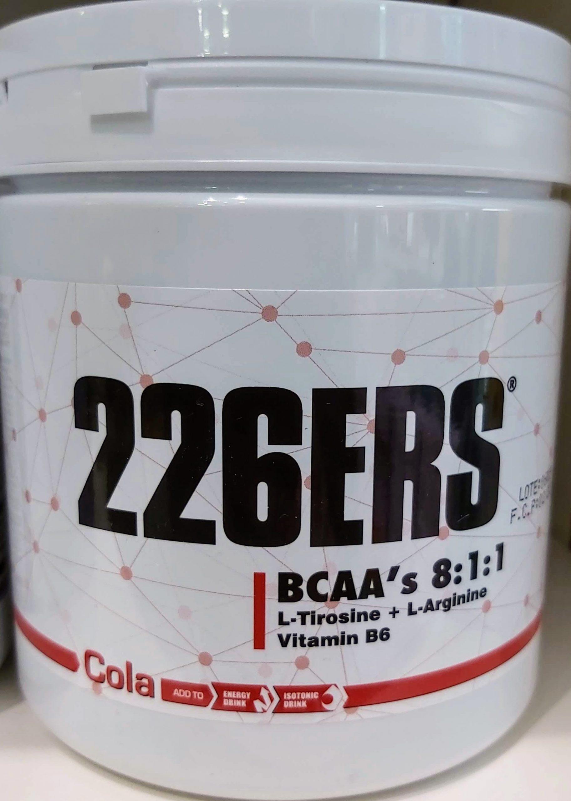 Comprar 226ERS con Arginina y la Tirosina un excelente producto tanto para deportes de fuerza como deportes de resistencia.