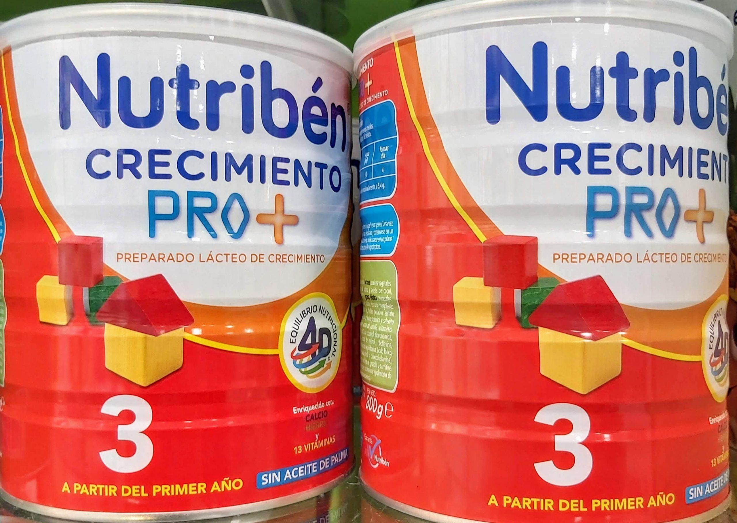 Nutribén® Crecimiento Pro+ es una fórmula de crecimiento adaptada para niños a partir de 12 meses de edad. Es la mejor opción para el periodo que hay entre la leche de continuación y el inicio de la toma de leche de vaca.