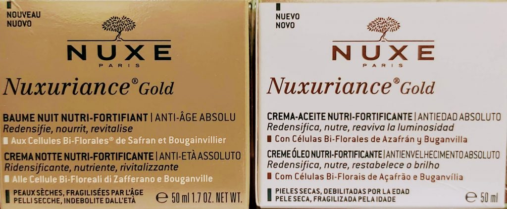 Compra Nuxe Nuxuriance Gold en Gran Farmacia Andorra Online la piel se fortifica y se vuelve más firme. Las arrugas se alisan, la piel está intensamente redensificada