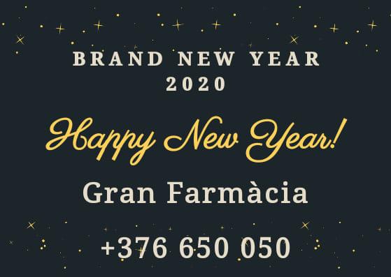 Feliç Any Nou 2020 - Feliz Año Nuevo 2020....