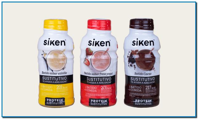 PROTEÍNA VEGETAL MI FORMA DE VIDA NUEVA GAMA DE BATIDOS Si tu objetivo es bajar de peso el método DietLine de Siken® puede ayudarte