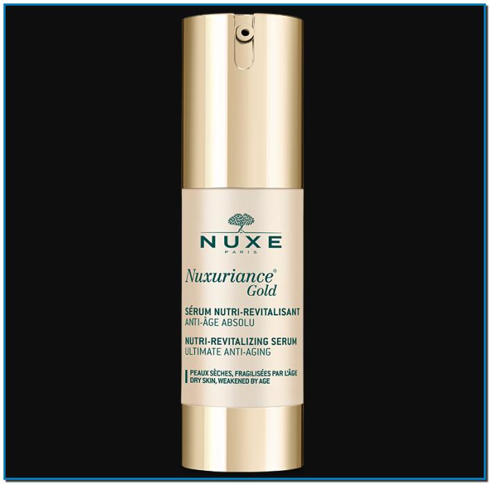 Comprar Nuxe Nuxuriance Gold sérum en Gran Farmacia Andorra nutri revitalizante anti edad es un sérum anti edad para pieles secas o frágiles debido a la edad
