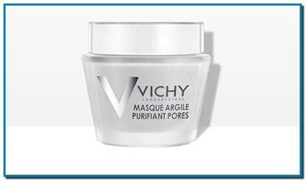 La primera mascarilla mineral que asocia 2 arcillas blancas con Agua Termal Mineralizante de Vichy para piel grasa y con poros visibles. Para mujeres con piel grasa, exceso de sebo y poros visibles.