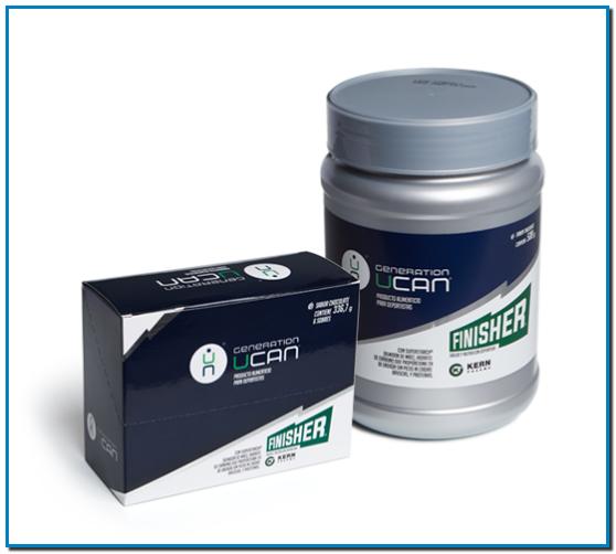 Generation UCAN® con proteínas son sobres o un preparado en polvo parareconstituir que contiene hidratos de carbono que contribuyen a larecuperación de la función muscular normal