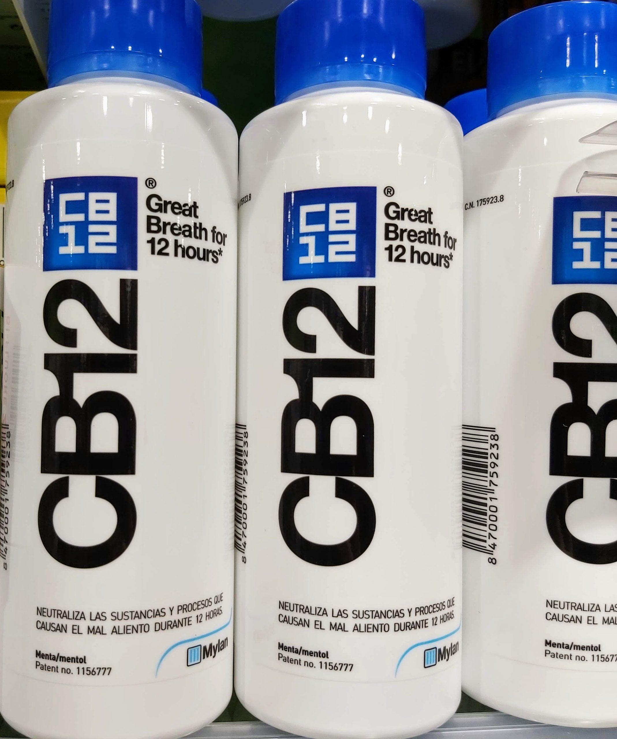 CB12® ENJUAGUE BUCAL control y la eliminación del mal aliento