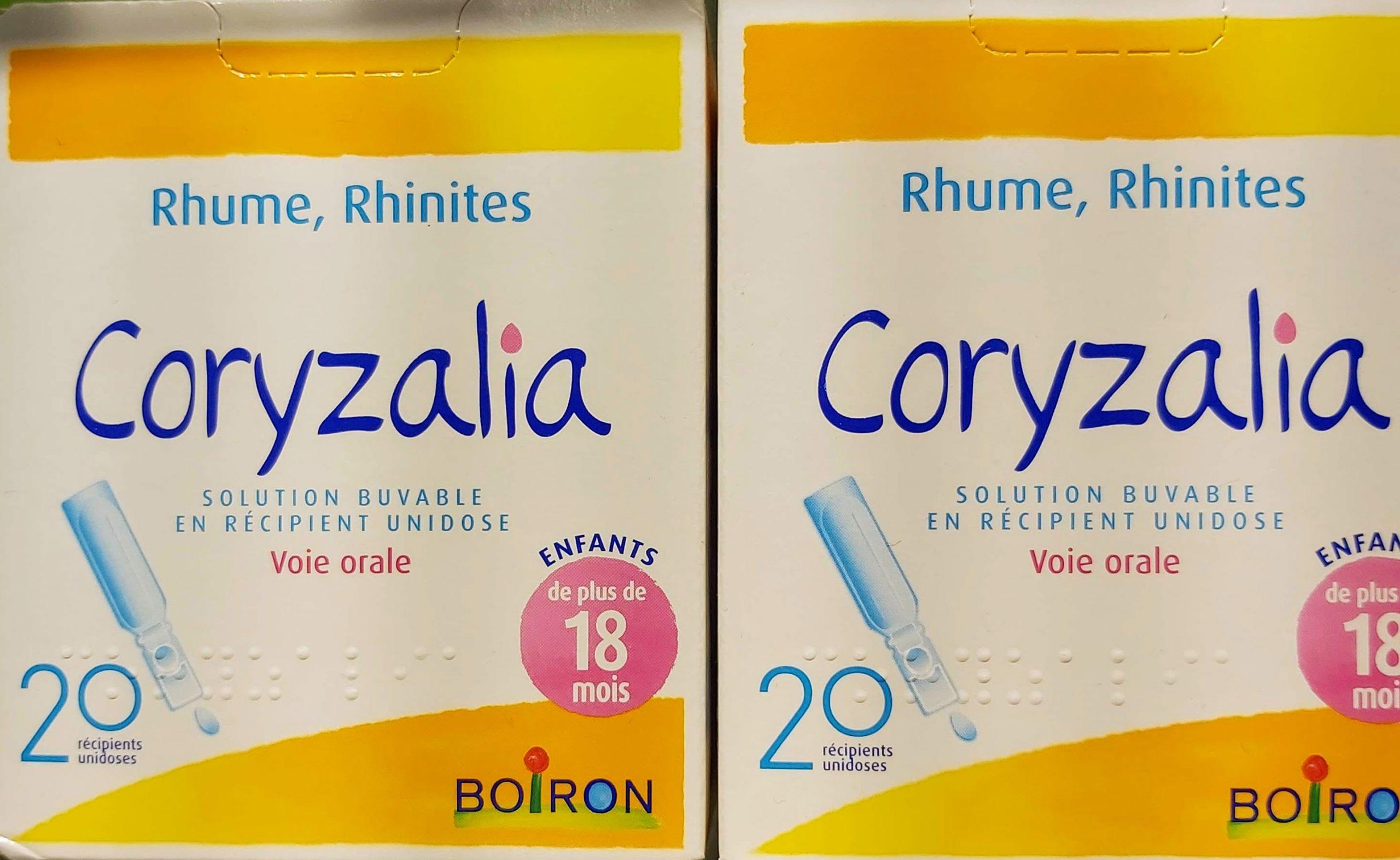 Coryzalia de boirón es un medicamento homeopático indicado para la rinitis alérgicas o para las congestiones nasales alérgicas o de catarros.