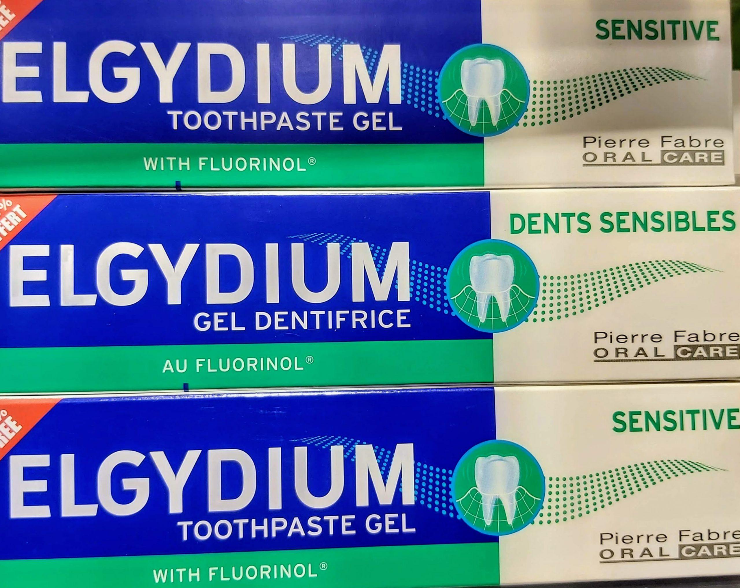 ELGYDIUM DENTIFRICO ANTI-PLACA. Permite recuperar la blancura de los dientes de la infancia. Control de las pigmentaciones diarias (café, té, etc).