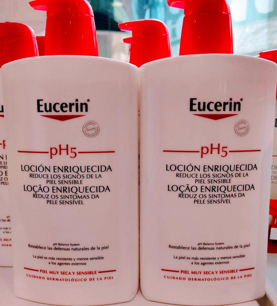 Compra Eucerin pH5 Loción con Dosificador loción corporal indicada para el cuidado de pieles sensibles hidrata repara y aporta elasticidad