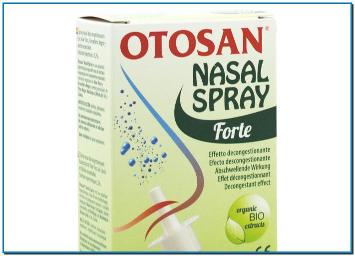 Otosan® Nasal Spray es una solución hipertónica (2,2%) de agua del mar de Bretaña, que ayuda a descongestionar la nariz en caso de resfriados, alergias, sinusitis.Despeja las fosas nasales y aporta alivio inmediato.